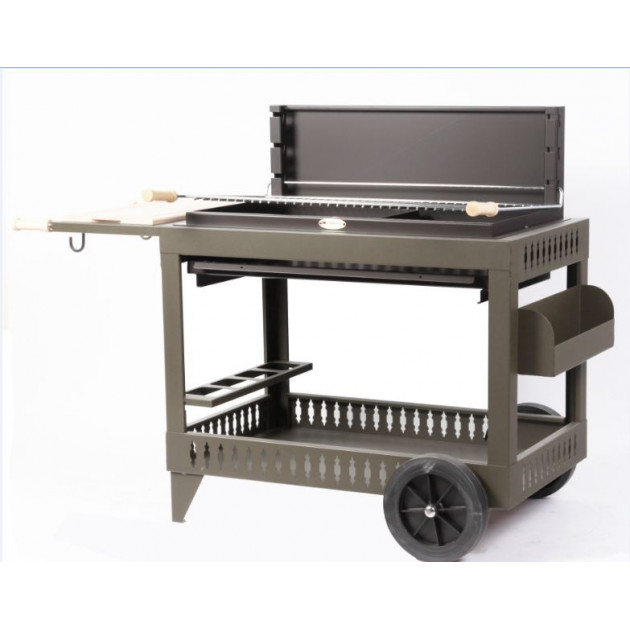 Barbecue charbon de bois Le Marquier Iholdy taupe