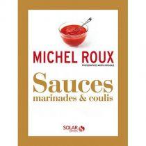 Livre Sauces, Marinades et coulis