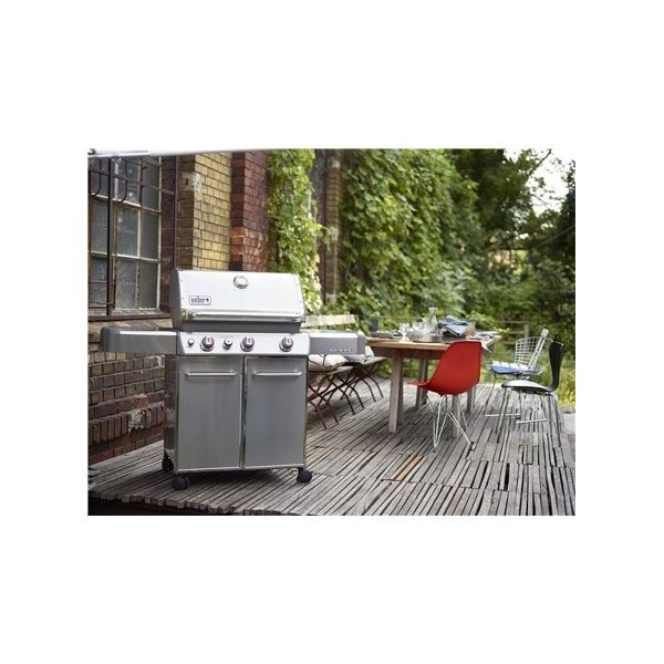 barbecue gaz weber genesis s 330 gbs inox. Black Bedroom Furniture Sets. Home Design Ideas