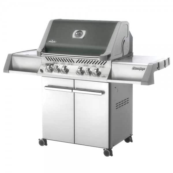 Barbecue gaz napoleon prestige 500 gris quartz fume - Barbecue gaz infrarouge ...
