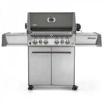 Barbecue à gaz Napoleon Prestige 500 infrarouge gris