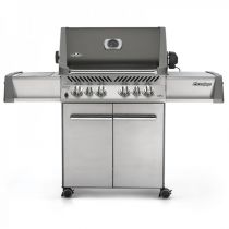 Barbecue gaz Napoleon Prestige infrarouge gris 500