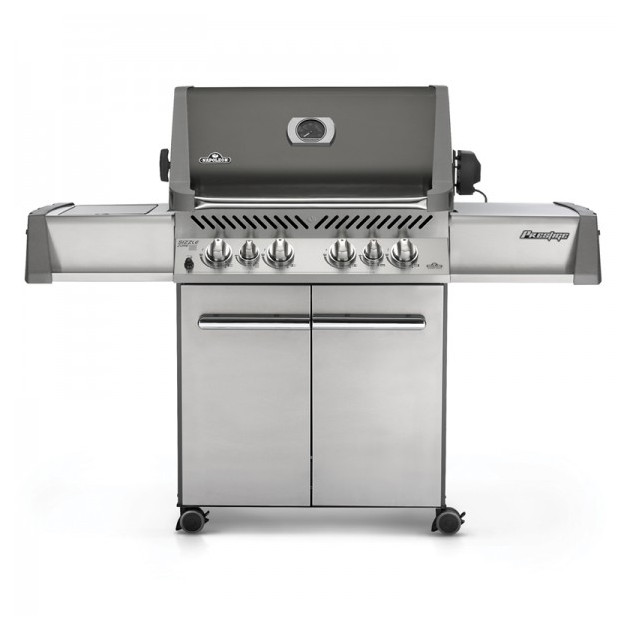 Le mod le prestige 500 infrarouge gris sur chariot le barbecue gaz napol on - Barbecue gaz infrarouge ...