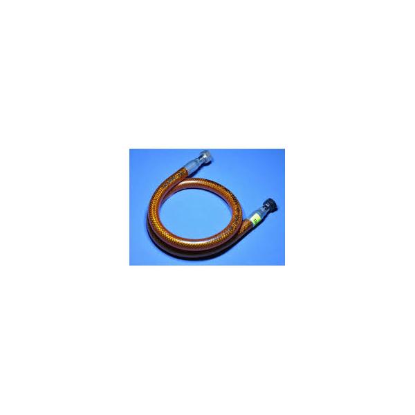 Flexible garanti vie 1m50 pour plancha gaz ou barbecue gaz for Flexible gaz a vie