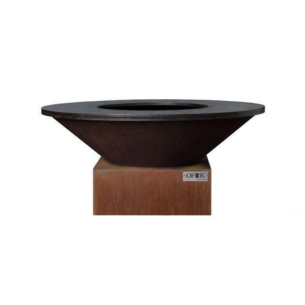 brasero plancha acier ofyr 100x45cm. Black Bedroom Furniture Sets. Home Design Ideas