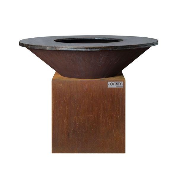 brasero plancha acier ofyr 100 x 75 cm. Black Bedroom Furniture Sets. Home Design Ideas