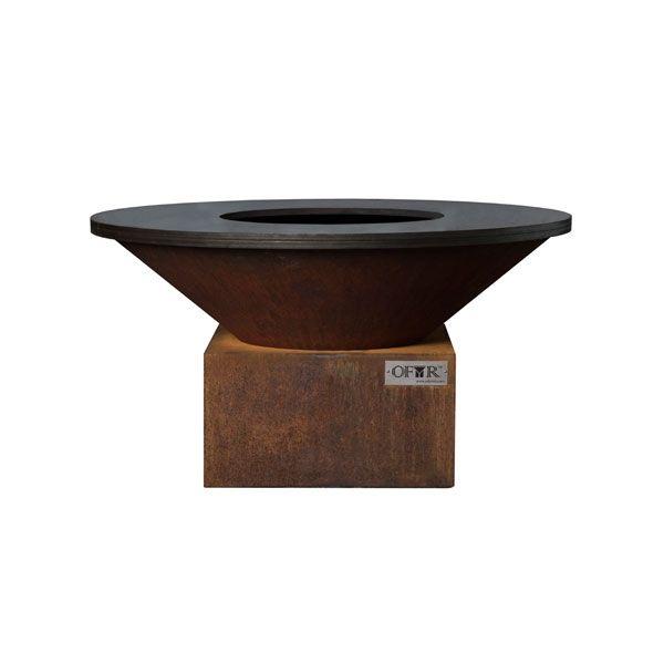 brasero plancha acier ofyr 85 x 45 cm. Black Bedroom Furniture Sets. Home Design Ideas
