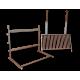 Grilloir pour cheminée Forge de Rodez 3 étages 50 cm
