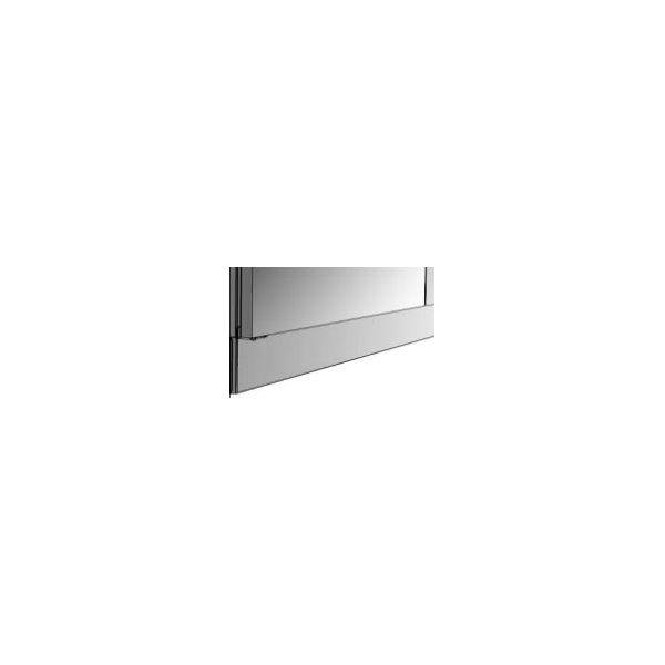 plinthe inox pour module 100cm. Black Bedroom Furniture Sets. Home Design Ideas