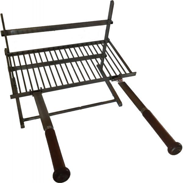 grille cheminee forge de rodez 3 etages 50 cm accessoire. Black Bedroom Furniture Sets. Home Design Ideas