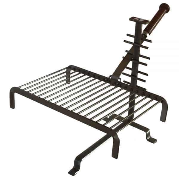 grille cheminee forge de rodez amovible 30 cm accessoire. Black Bedroom Furniture Sets. Home Design Ideas