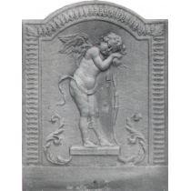 Plaque fonte Cupidon 38 x 47 cm