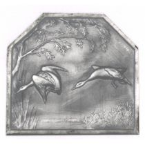 Plaque fonte Les Sarcelles 48 x 44 cm