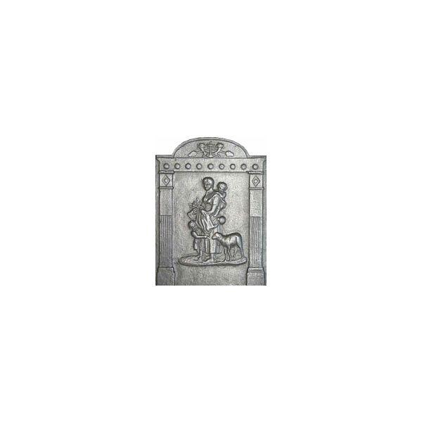 Plaque en fonte la bonne bergere 42 x 56 cm plaque fonte - Plaque de cheminee en fonte le bon coin ...