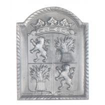 Plaque fonte Gascogne 47 x 61 cm