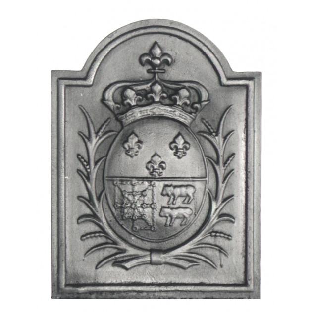 Plaque fonte Armes de Navarre 44 x 58 cm