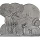Plaque fonte Jeux d'enfants 52 x 43 cm
