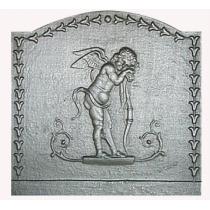 Plaque fonte Cupidon 50 x 50 cm