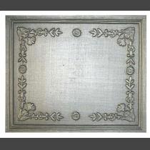 Plaque fonte Cadre orne 59 x 49 cm