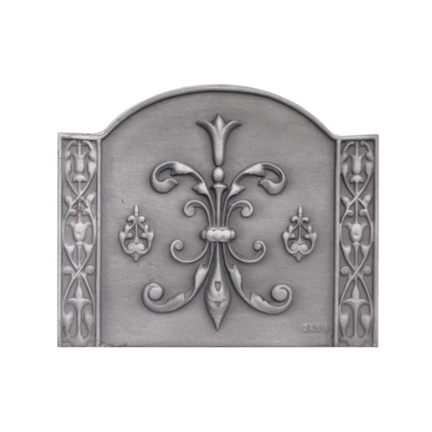 Plaque fonte Louis XIII 58 x 47 cm