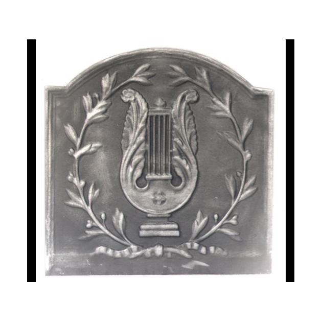 Plaque fonte La lyre 58 x 58 cm