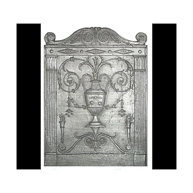 Plaque fonte Le vase 50 x 70 cm