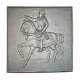 Plaque fonte Napoleon 56 x56 cm