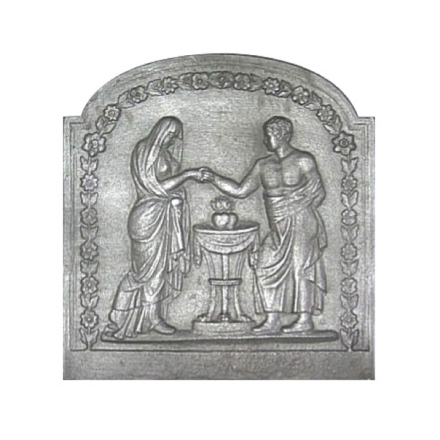 Plaque fonte Union 59 x 63 cm