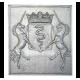 Plaque fonte Colbert 56 x 62 cm