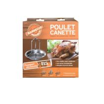 Support de cuisson poulet Barbecue Republic