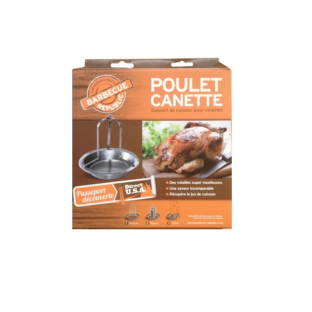Support poulet canette Barbecue Republic