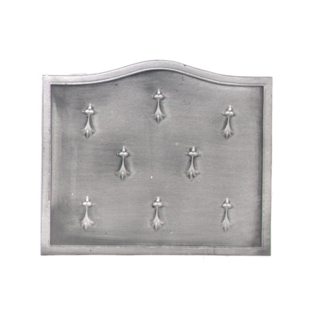 Plaque fonte Hermines 60 x50 cm
