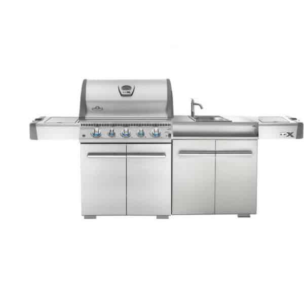 Barbecue napoleon lex 485 avec evier - Barbecue infrarouge gaz ...
