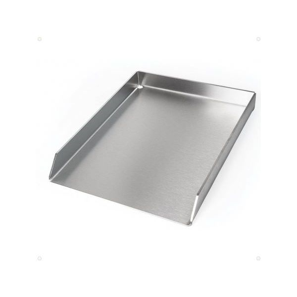 Plaque plancha inox table de cuisine - Plaque inox brosse pour cuisine ...