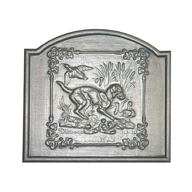 Plaque fonte L'angelus 2, 60 x 50 cm