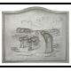 Plaque fonte Glaneuse 2, 60 x 50 cm