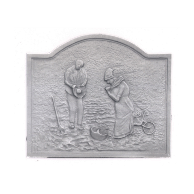 Plaque fonte L'angelus 60 x 50 cm