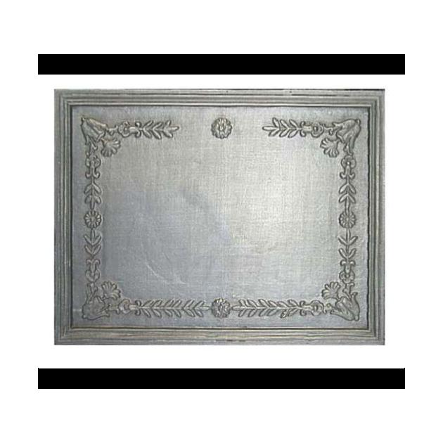 Plaque fonte Cadre orne 66 x 52 cm