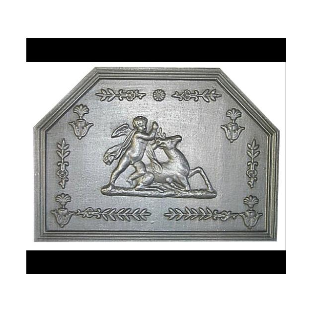 Plaque fonte Le cerf 69 x 49 cm