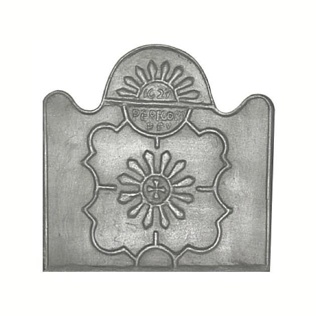 Plaque fonte Perigord 65 x 65 cm