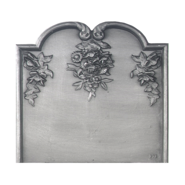 Plaque fonte Le bouquet 69 x 64 cm