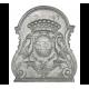 Plaque fonte Aigles 63 x 75 cm