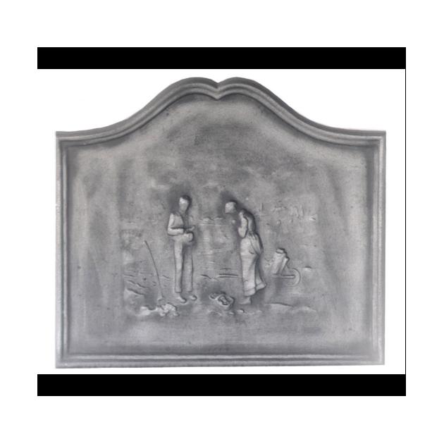 Plaque fonte Angelus 70 x 60 cm