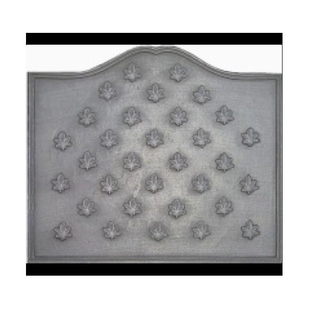 Plaque fonte Semis feuilles de marronnier 70 x 60 cm