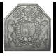 Plaque fonte Armes de France 70 x 70 cm
