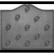 Plaque fonte Semis feuilles de vigne 70 x 60 cm