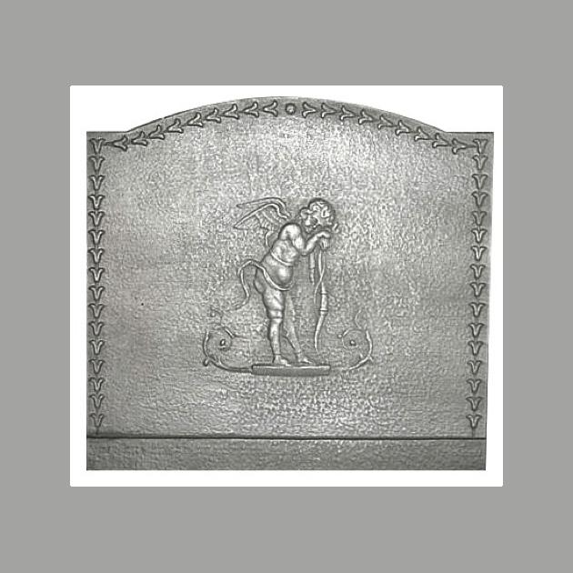 Plaque fonte Cupidon 70 x 65 cm