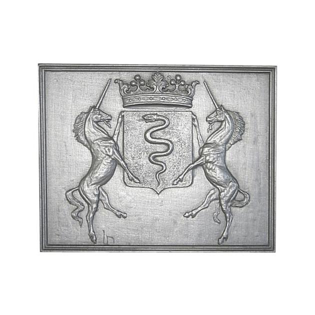 Plaque fonte Colbert 70 x 55 cm