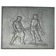 Plaque fonte Forgerons 70 x 60 cm