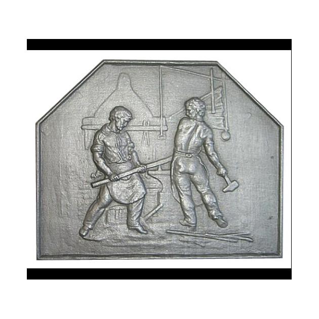 Plaque fonte Forgerons 75 x 60 cm